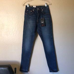 "Levi's Premium Women's 501 S ""Big E"" Jeans 25 x 30"